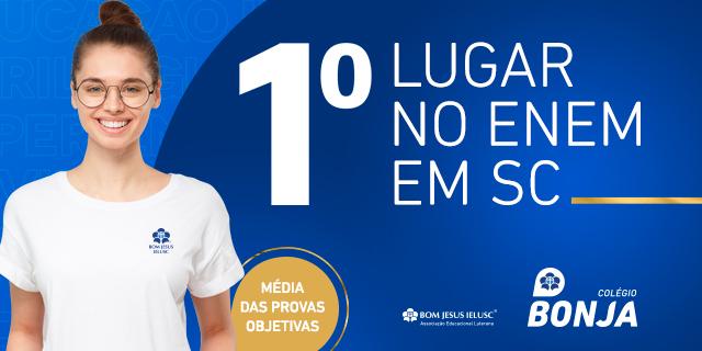 Bonja: primeiro lugar no ENEM em Santa Catarina